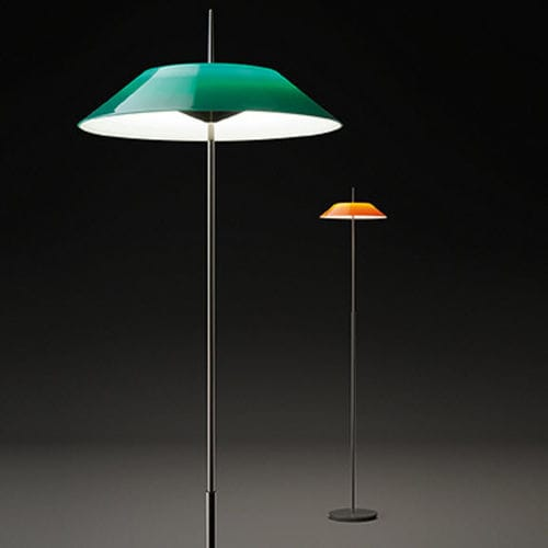 Floor-standing lamp / contemporary / steel / polycarbonate MAYFAIR by Diego Fortunato VIBIA LIGHTING