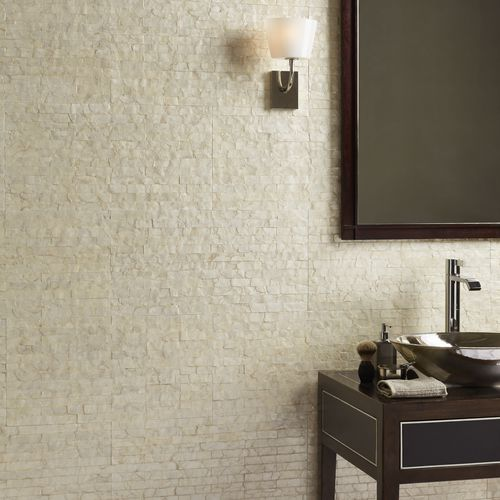 mother-of-pearl wallcovering / home / tertiary / embossed