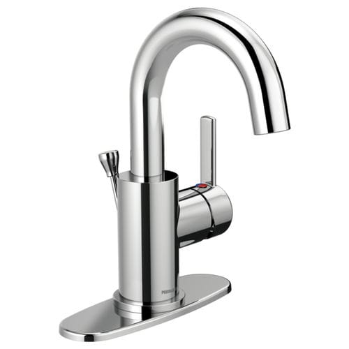 handbasin mixer tap / chromed metal / bathroom / 1-hole