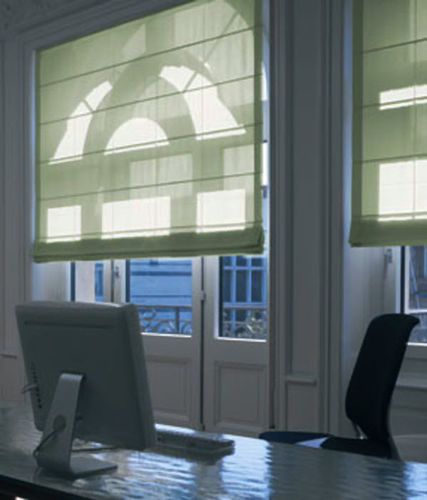 Roman blinds / fabric / commercial / electric Silent Gliss International Limited