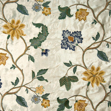 Upholstery fabric / floral pattern / silk GRAND PALAIS RODOLPH