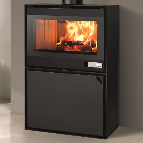 Wood heating stove / contemporary / metal - EASY - Jolly-mec