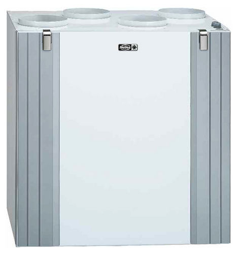 dual-flow ventilation unit / centralized / residential / for homes