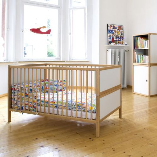beech baby bed / nursery / home