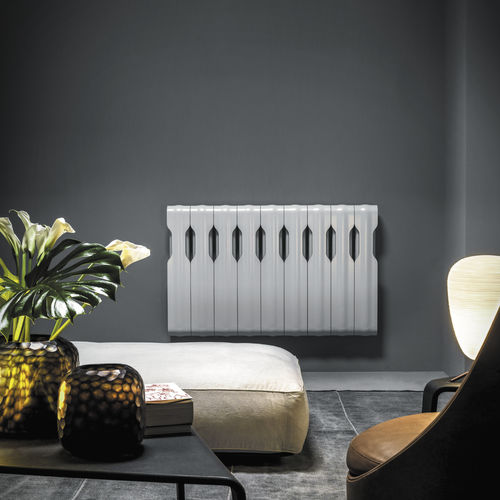 Hot water radiator / aluminum / contemporary / horizontal ELEMENTS:  AGORA' by Nicola De Ponti TUBES