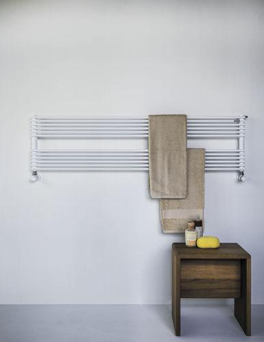 Hot water towel radiator / steel / contemporary / horizontal BASICS: RITMATO TUBES