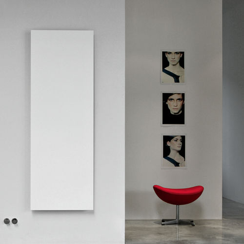 Hot water radiator / electric / aluminum / contemporary ELEMENTS: SQUARE by Ludovica & Roberto Palomba TUBES