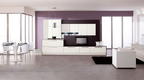 Contemporary kitchen / wooden / lacquered - EXTRA FASHION VARIANTE ...