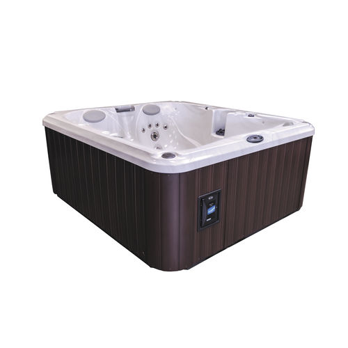 Built-in hot tub / above-ground / rectangular / 5-seater J-225™ Jacuzzi®