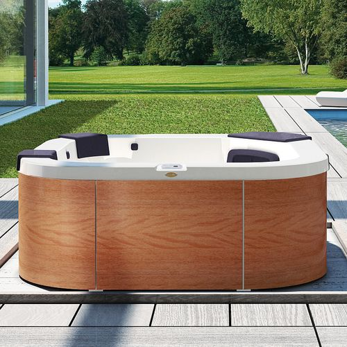 Above-ground hot tub / square / 4-seater / outdoor DELFI by Kaluderovic & Condini Jacuzzi®