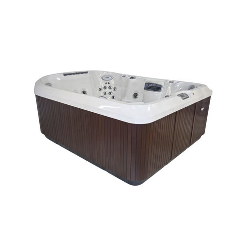 Above-ground hot tub / rectangular / 8-seater / outdoor J-495™ Jacuzzi®