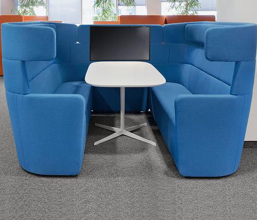 modular sofa / contemporary / fabric / for public buildings