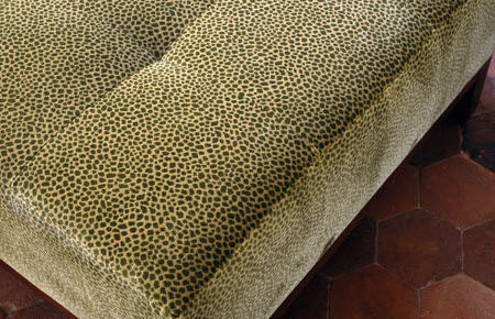 upholstery fabric / patterned / viscose