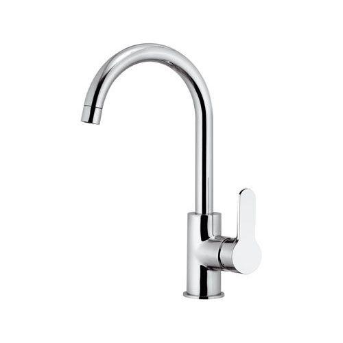 chromed metal mixer tap / kitchen / 1-hole