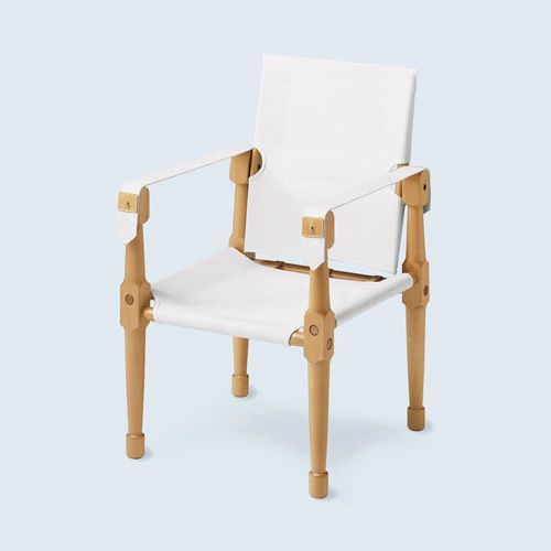 traditional chair / with removable cover / with armrests / tilting