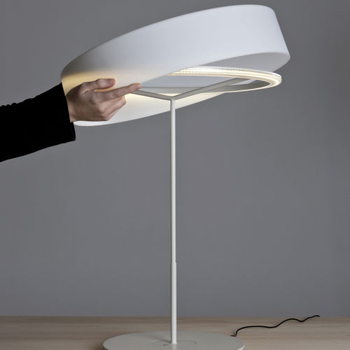table lamp / contemporary / metal / methacrylate
