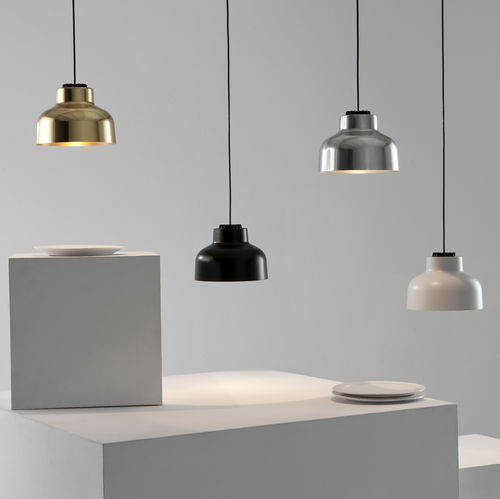 pendant lamp / contemporary / aluminum / polished brass