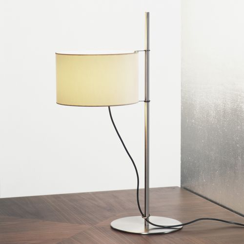 Table lamp / contemporary / metal / linen TMD by Miguel Milá Santa & Cole