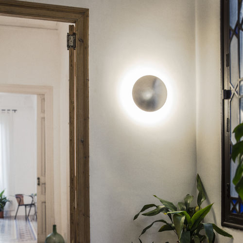contemporary wall light / metal / LED / halogen