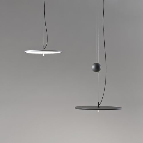 Pendant lamp / contemporary / metal / LED BLANCOWHITE D1 / D2 by Antoni Arola Santa & Cole