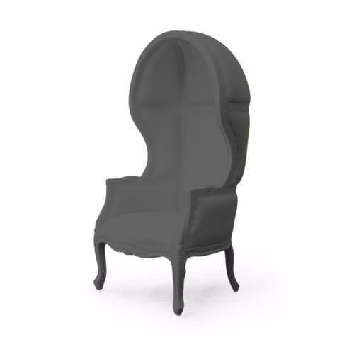 New Baroque design armchair / polyurethane / high-back / outdoor