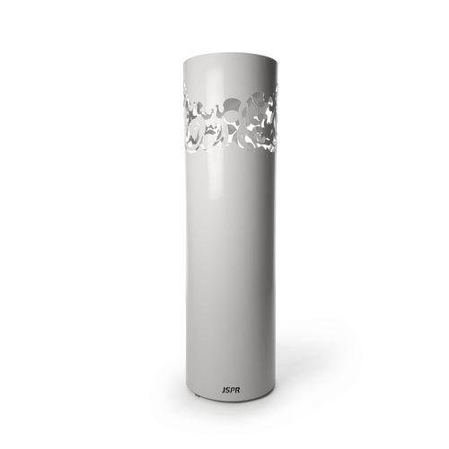 floor-mounted garden torch / steel