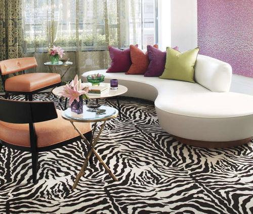 tufted carpet / wool / velvet