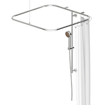 Wall-mounted shower set / ceiling-mounted / contemporary / with hand shower Z93058 by Ludovica+Roberto Palomba ZUCCHETTI RUBINETTERIA