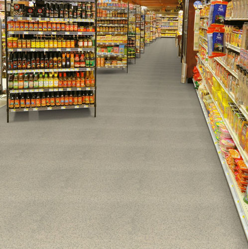 vinyl flooring / tertiary / roll / smooth