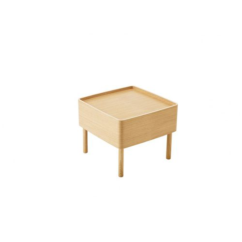 contemporary coffee table / solid wood / MDF / plywood