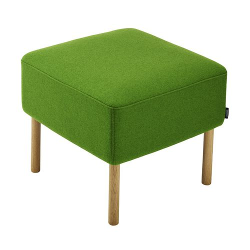 contemporary footstool / fabric / for public spaces / home