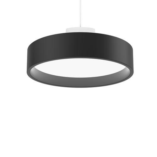 pendant lamp / contemporary / aluminum / glass