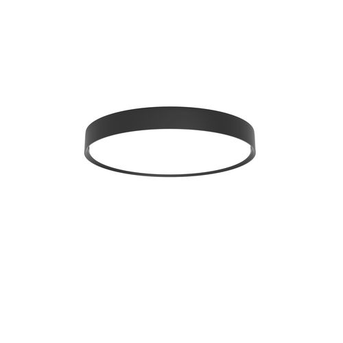 contemporary ceiling light / round / aluminum / acrylic