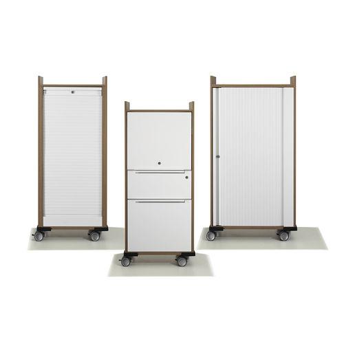 Office service trolley / wood veneer / commercial WINEA MAXX WINI Büromöbel Georg Schmidt GmbH & Co. KG