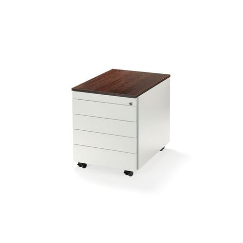 wooden office unit / melamine / 3-drawer / 2-drawer
