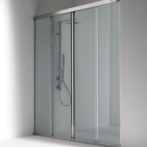 Sliding shower screen / for alcoves - OASI: 101…C - Bianchi & Fontana
