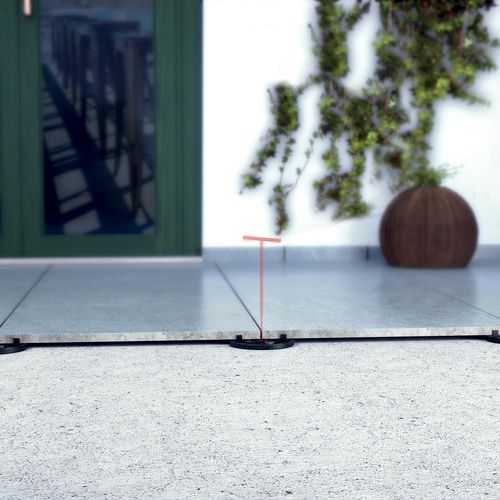 outdoor raised floor pedestal - ETERNO IVICA SRL