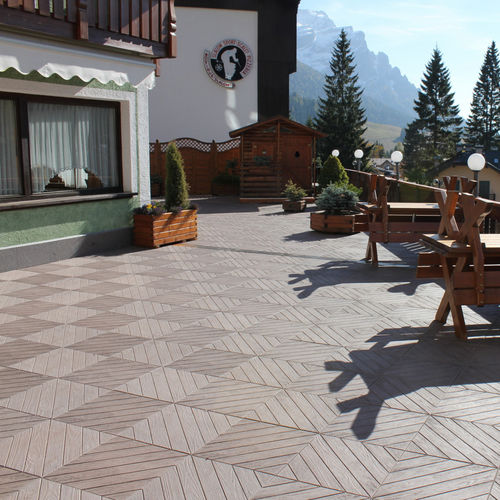 concrete paving slab / engineered stone / pedestrian / outdoor