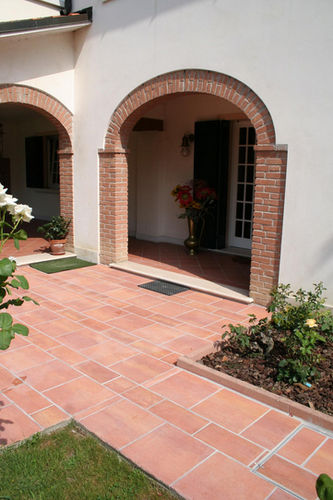 Outdoor tile / for floors / composite / matte MAXI MODUX RED MASPE PAVINGS