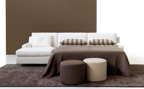 Corner sofa / bed / contemporary / cotton ELIO BOSAL