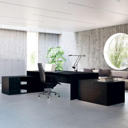 executive desk / wooden / laminate / contemporary
