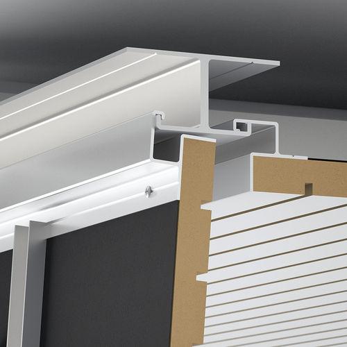 Wooden suspended ceiling / aluminum / panel / acoustic EASY ACCESS by Eri Goshen Fantoni