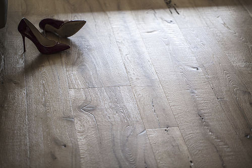 Engineered parquet flooring / glued / floating / oak BRICCOLA VENEZIANA ANTICO TRENTINO DI LUCIO SRL