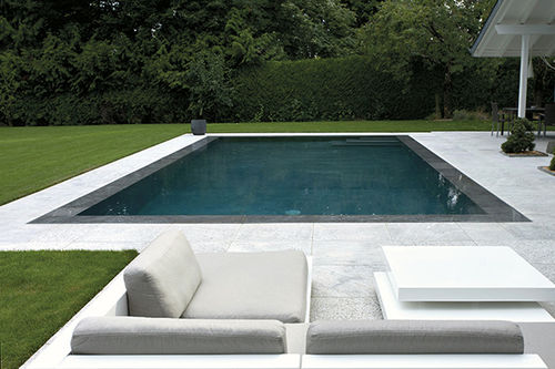 In-Ground Swimming Pool / Concrete / Perimeter Overflow / Outdoor
