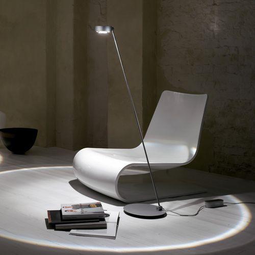 Floor-standing lamp / contemporary / aluminum / steel SENTO LETTURA Occhio