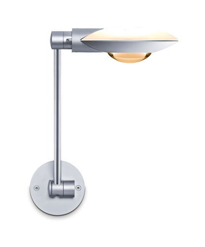Contemporary wall light / metal / halogen / articulated arm PURO: PARETE SINGOLO Occhio