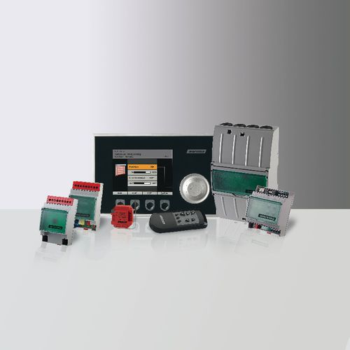 home automation system control panel / for heating systems / for ventilation systems / wall-mounted