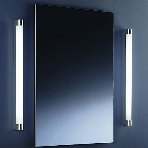 Wall-mounted mirror / contemporary / rectangular / illuminated 65.346.81 Baulmann Leuchten