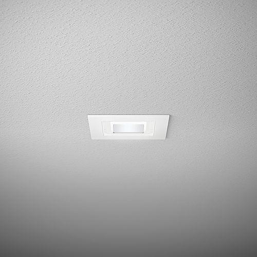 recessed downlight / LED / round / square