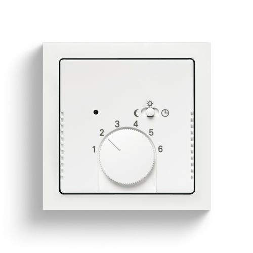 room thermostat / wall-mounted / for heating